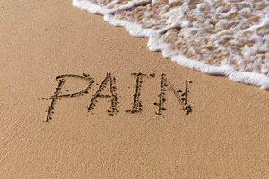 כאב יכול להימחק בחול
